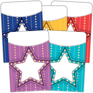 TCR5481 Marquee Library Pockets - Multi-Pack Image