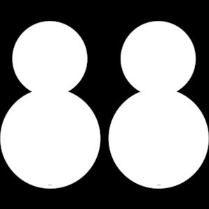TCR5488 Snowman Large Accents Image