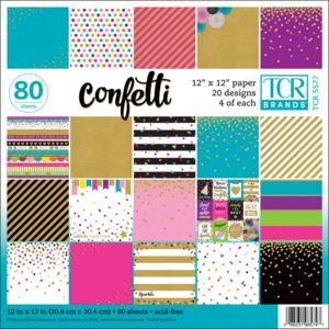 TCR5577 Confetti Project Paper Image