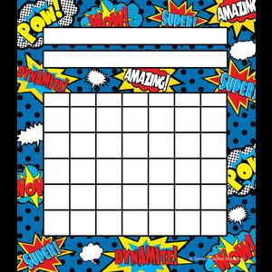 TCR5646 Superhero Incentive Charts Image