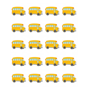 TCR5651 School Bus Stickers Image