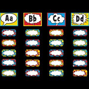 TCR5847 Superhero Alphabet Word Wall Bulletin Board Display Set Image