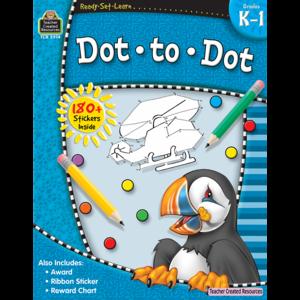 TCR5914 Ready-Set-Learn: Dot to Dot Grade K-1 Image