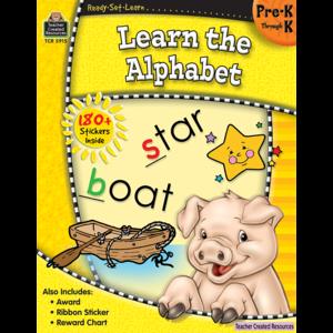 TCR5915 Ready-Set-Learn: Learn the Alphabet PreK-K Image