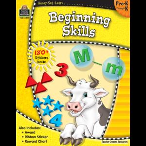 TCR5919 Ready-Set-Learn: Beginning Skills PreK-K Image