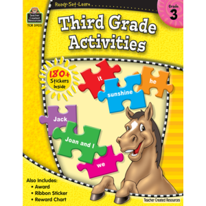 TCR5925 Ready-Set-Learn: 3rd Grade Activities Image