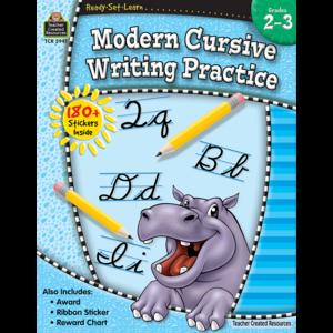 TCR5941 Ready-Set-Learn: Modern Cursive Writing Practice Grade 2-3 Image