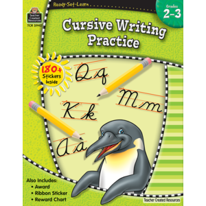 TCR5942 Ready-Set-Learn: Cursive Writing Practice Grade 2-3 Image