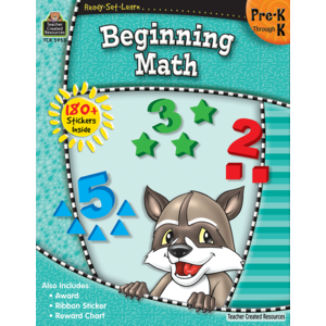 TCR5953 Ready-Set-Learn: Beginning Math PreK-K Image