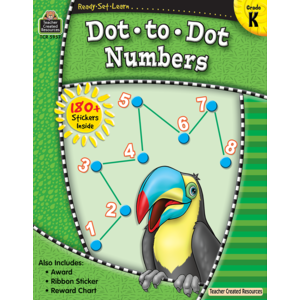 TCR5957 Ready-Set-Learn: Dot-to-Dot Numbers Grade K Image