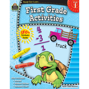 TCR5958 Ready-Set-Learn: First Grade Activities Image