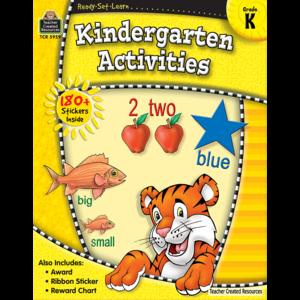 TCR5959 Ready-Set-Learn: Kindergarten Activities Image