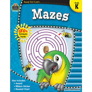 TCR5962 Ready-Set-Learn: Mazes Grade K Image