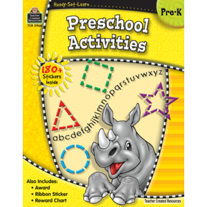 TCR5966 Ready-Set-Learn: Preschool Activities Image