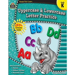 TCR5973 Ready-Set-Learn: Upper and Lower Case Grade K Image