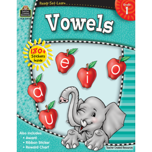 TCR5974 Ready-Set-Learn: Vowels Grade 1 Image