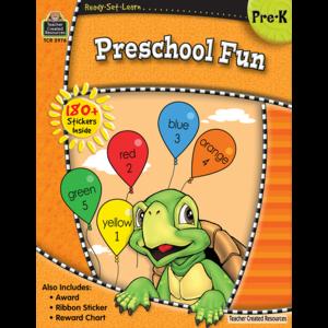 TCR5976 Ready-Set-Learn: Preschool Fun Image