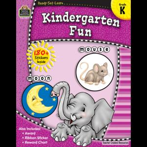 TCR5977 Ready-Set-Learn: Kindergarten Fun Image