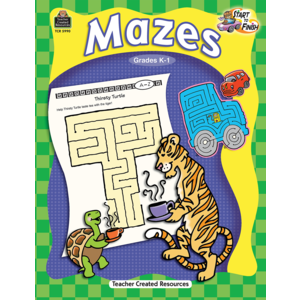 TCR5990 Start to Finish: Mazes Grade K-1 Image
