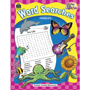 TCR5994 Start to Finish: Word Searches Grade 2-3 Image