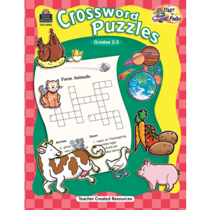 TCR5996 Start to Finish: Crossword Puzzles Grade 2-3 Image