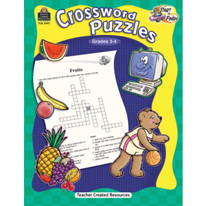 TCR5997 Start to Finish: Crossword Puzzles Grade 3-4 Image