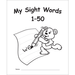 TCR60002 My Own Books: Sight Words 1–50 Image