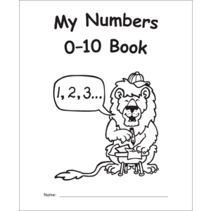 TCR60006 My Own Books: My Numbers 0–10 Book Image