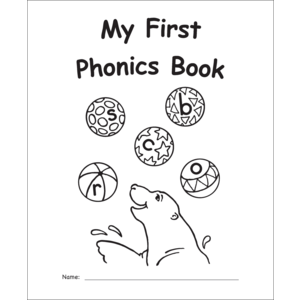 TCR60008 My Own Books: My First Phonics Book Image