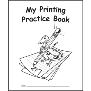TCR60031 My Own Printing Practice Book Image