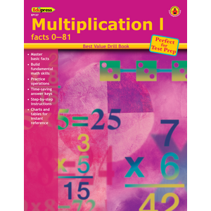 TCR60137 Best Value Drill Book Multiplication 1 Image