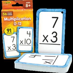 TCR62035 Multiplication 0-12 Flash Cards Image