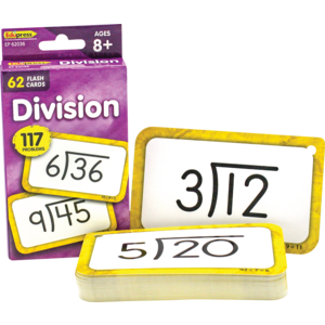 TCR62036 Division Flash Cards Image