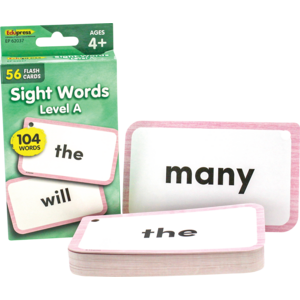 TCR62037 Sight Words Flash Cards - Level A Image