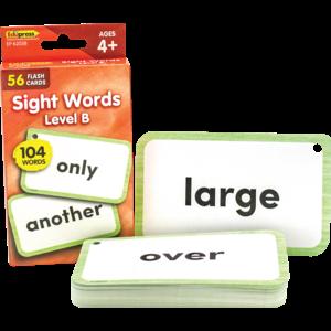 TCR62038 Sight Words Flash Cards - Level B Image