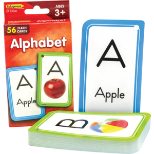 TCR62041 Alphabet Flash Cards Image