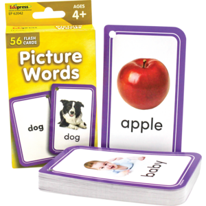 TCR62042 Picture Words Flash Cards Image