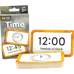 TCR62046 Time Flash Cards Image