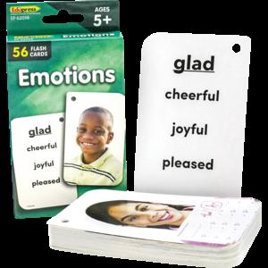 TCR62056 Emotions Flash Cards Image