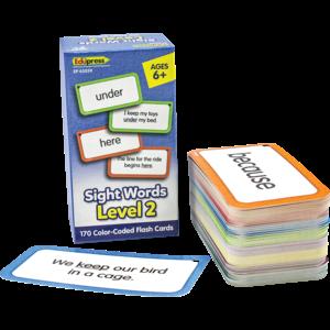 TCR62059 Sight Words Flash Cards - Level 2 Image