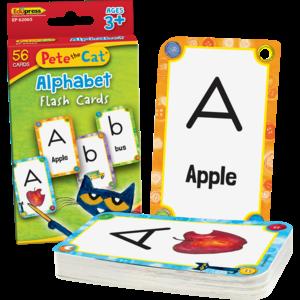 TCR62065 Pete the Cat® Alphabet Flash Cards Image