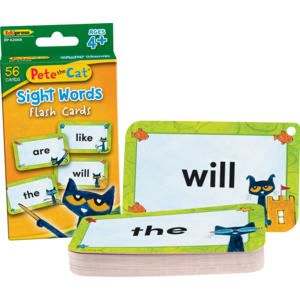 TCR62068 Pete the Cat® Sight Words Flash Cards Image