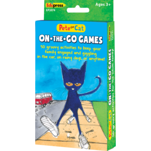 TCR62074 Pete the Cat On-the-Go Games Image