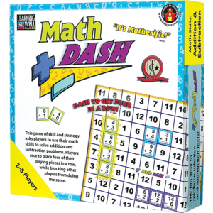 TCR62348 Math Dash Game: Addition/Subtraction Image