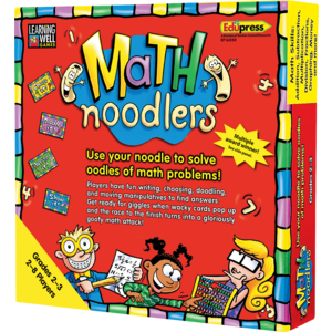 TCR62350 Math Noodlers Game Grades 2-3 Image