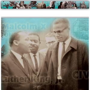 TCR63215 Black History Straight Border Trim Image