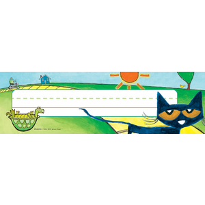 TCR63370 Pete the Cat Nameplates Image