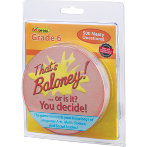 TCR63484 That's Baloney! Game Grade 6 Image