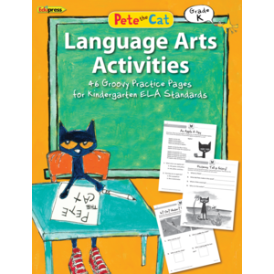 TCR63513 Pete the Cat Language Arts Activities Grade K Image