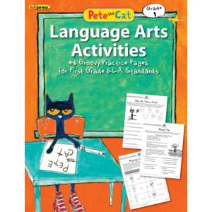 TCR63515 Pete the Cat Language Arts Activities Grade 1 Image